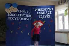 """""""WIERSZYKI ŁAMIĄCE JĘZYKI"""" KONKURS LOGOPEDYCZNO - RECYTATORSKI W SZKOLE PODSTAWOWEJ W LELKOWIE"""